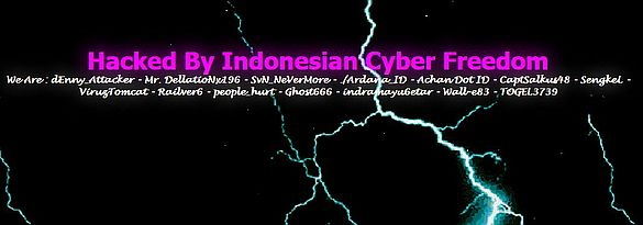 TSV website pwned by Indonesian Cyber Freedom