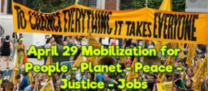 Mobilization for People-Planet-Peace-Justice-Jobs @ Lake Merritt Amphitheater - Between 12th Street and 1st Ave. | Oakland | California | United States