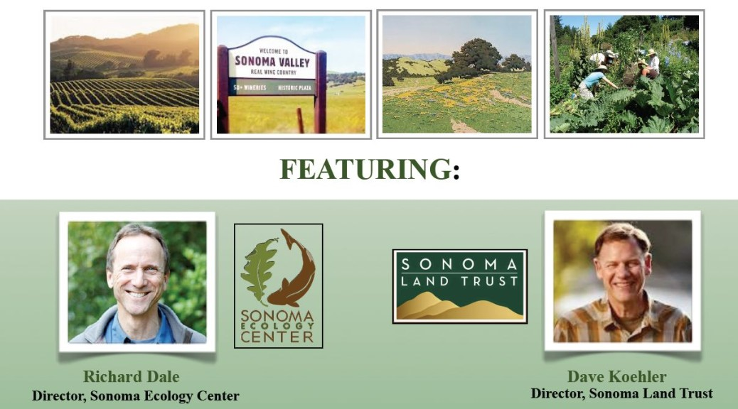 Nov 13 - Protecting and Preserving Sonoma Valley