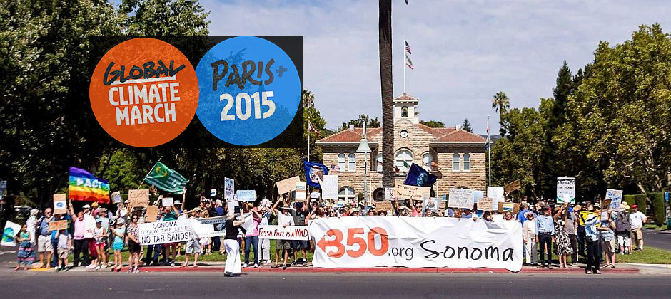 March to Sonoma Plaza for Climate Action