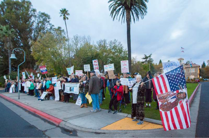 Sonoma Protest in Support of the Standing Rock Sioux