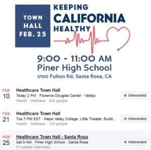 Health Care Town Hall with Congressman Thompson @ Piner High School | Santa Rosa | California | United States